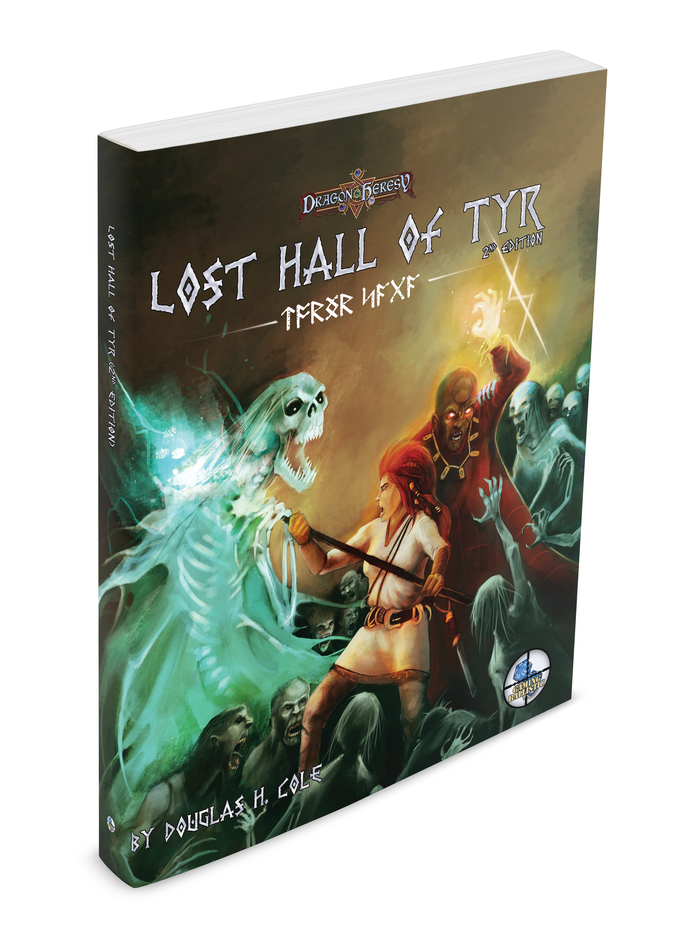 Thanks to your help, we'll be improving the maps, and getting a high-quality print run. Check out the pre-orders page to get Lost Hall 2e . . . and more!