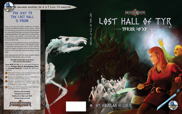 Original Lost Hall 2e Cover Composition