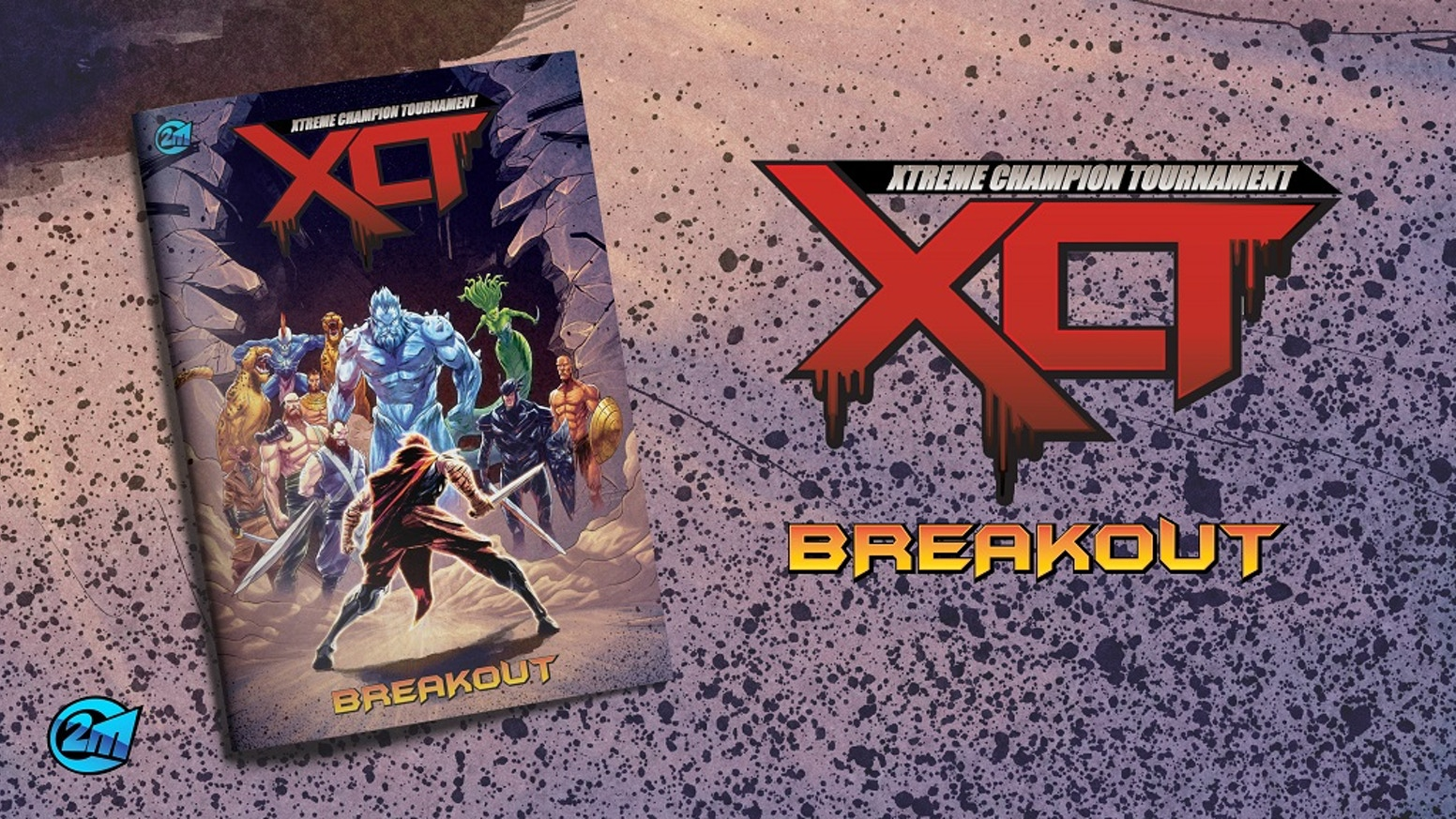 XCT: Breakout is the latest graphic novel in the XCT series. Who will fight? Who will escape? Who will survive?