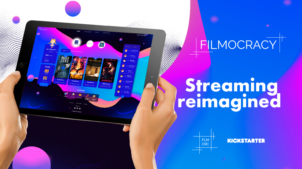 FILMOCRACY - Movie Streaming with Gamified Rewards project video thumbnail