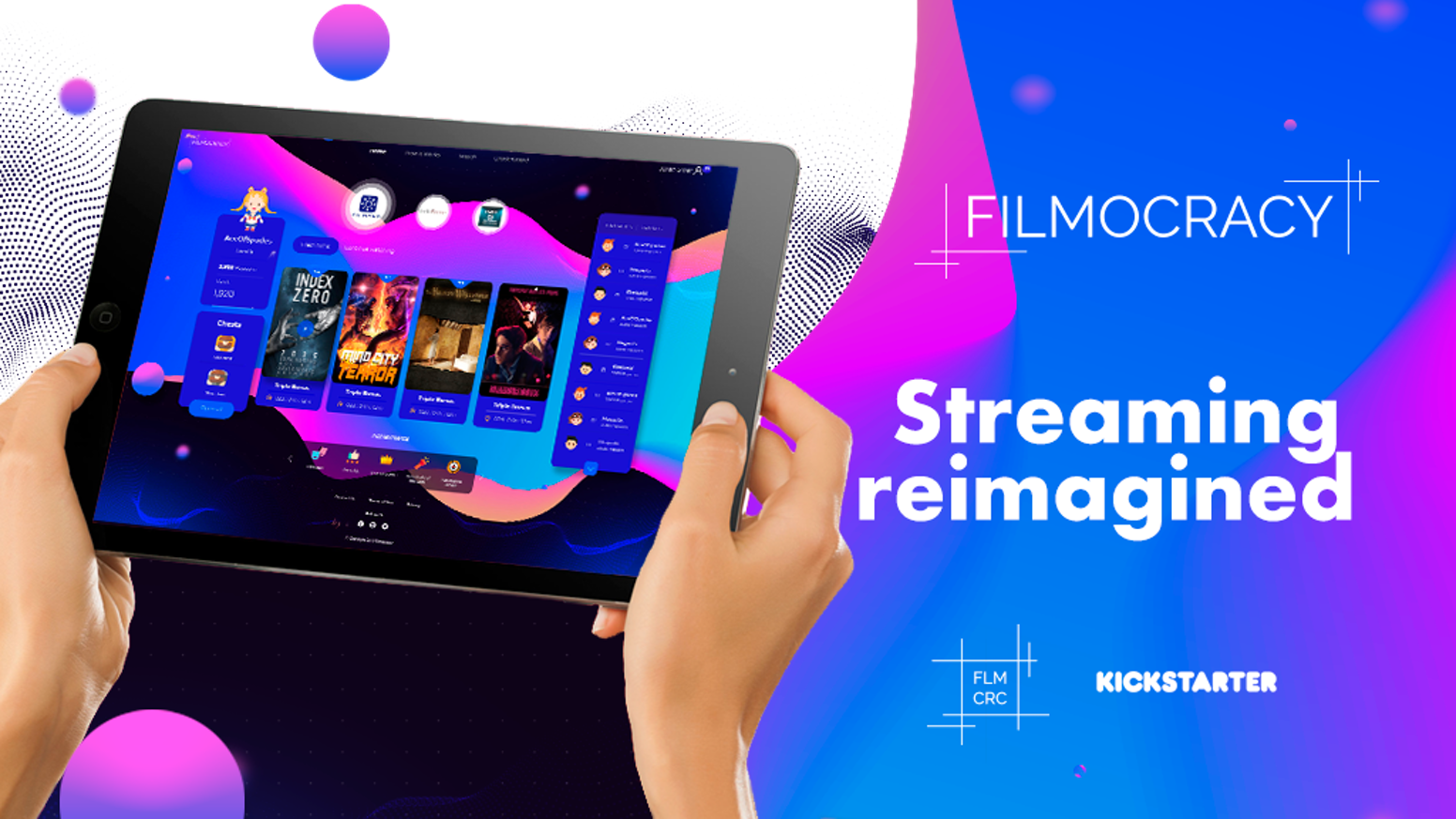 The ONLY movie streaming platform that PAYS you to watch films & leave reviews. Earn movie tickets, cash, & cool prizes!