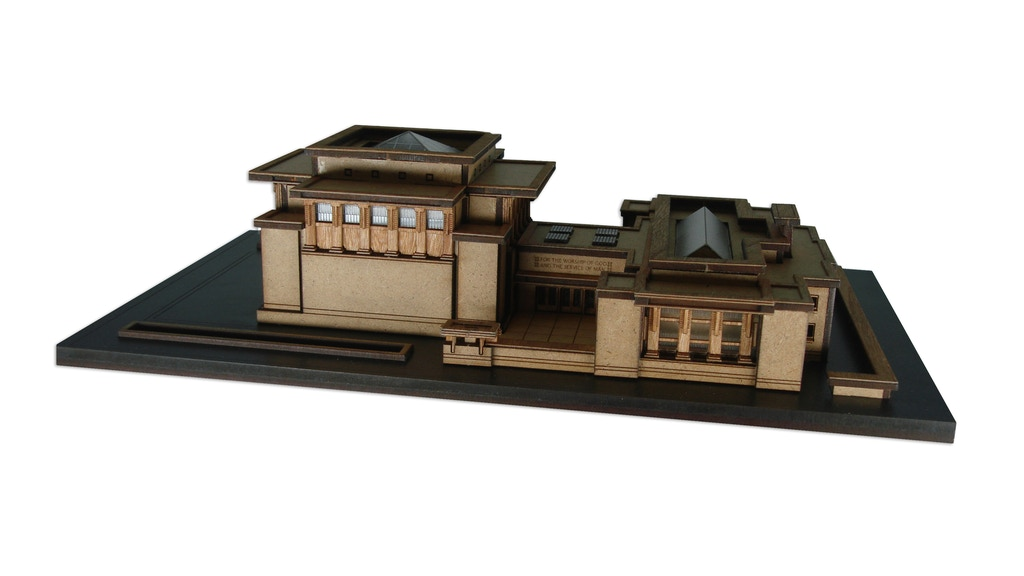 Unity Temple - A Frank Lloyd Wright Masterpiece in Miniature
