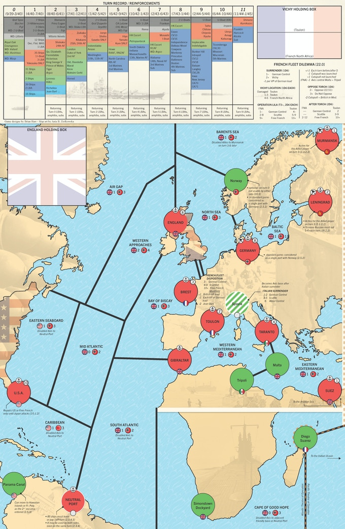 Atlantic Map
