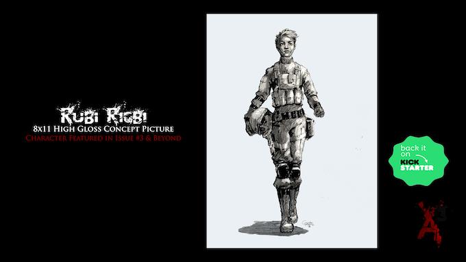 Exclusive Kickstarter (Rubi Rigbi) 8x11 High Gloss Concept Picture: Physical Reward