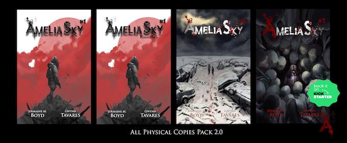 Exclusive Kickstarter (All Physical Copies Pack 2.0) Reward