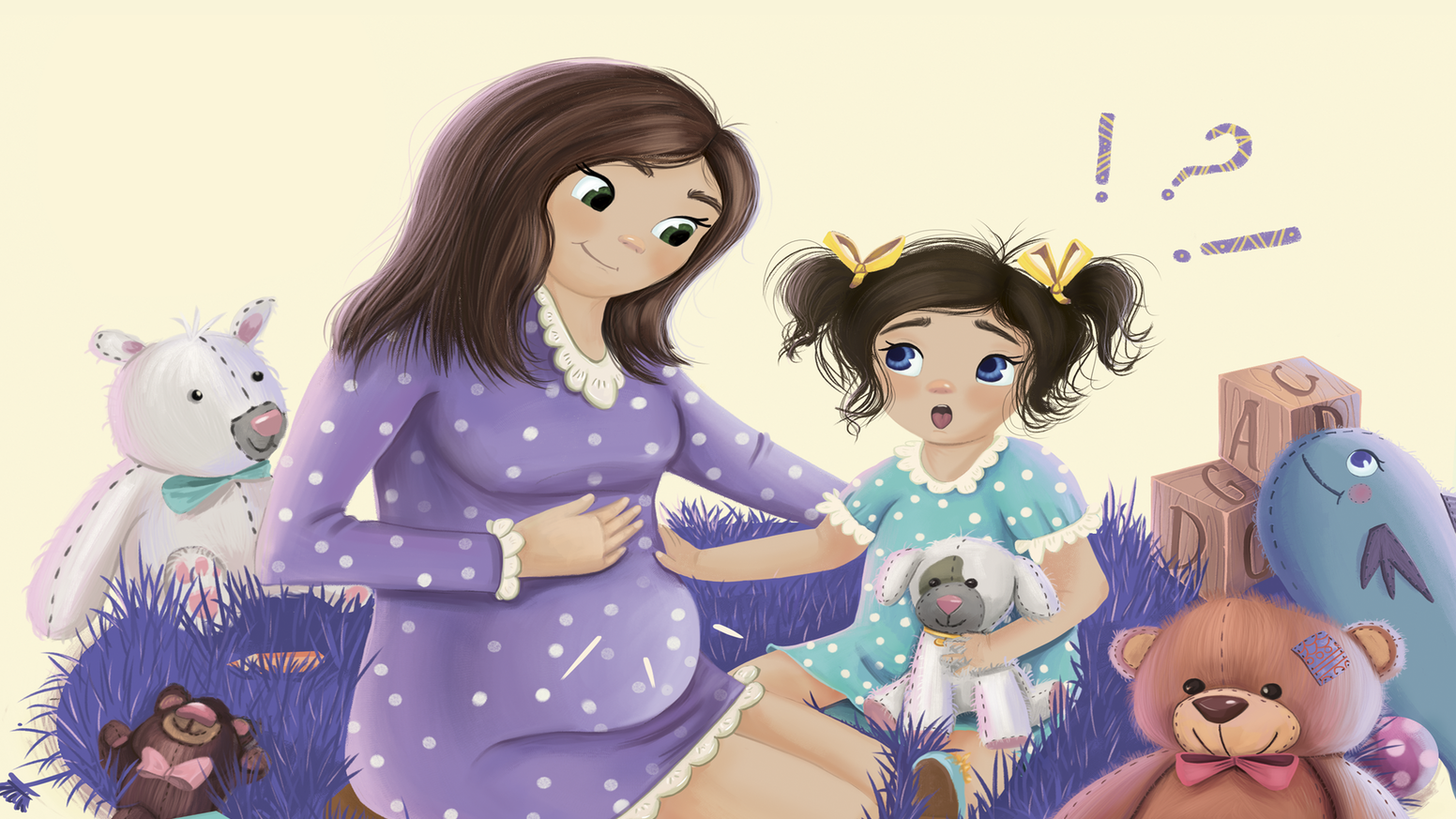 """I Hope It's A Puppy"" is a unique story that invites you to explore pregnancy through the eyes of a child! The whole family will be guessing all the way to the heartwarming end! It's the perfect interactive read aloud and the cutest waiting room book!"