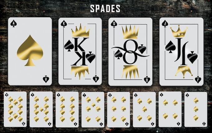 Spades suit