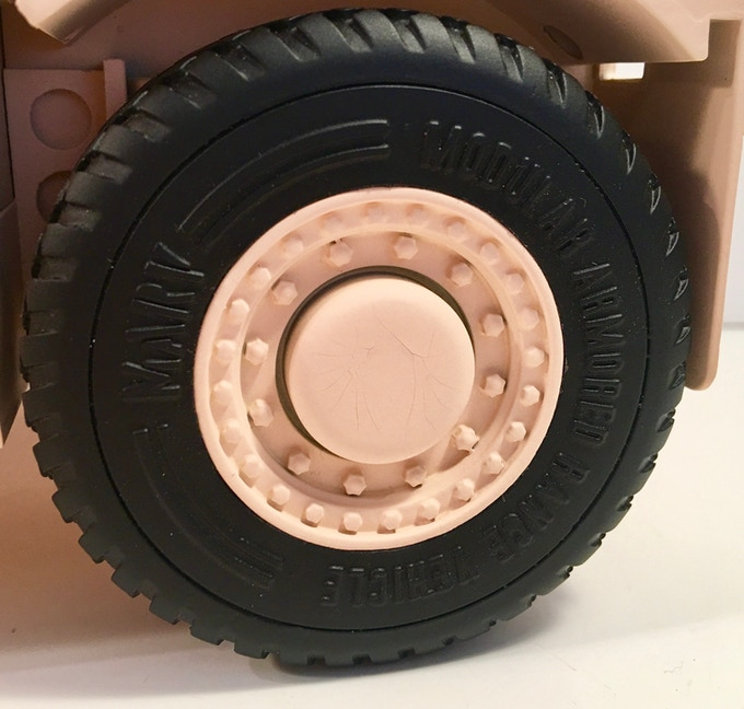 Rolling wheels with soft tires!