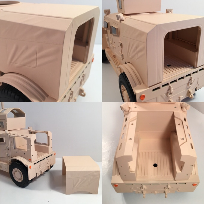Removable rear cover!