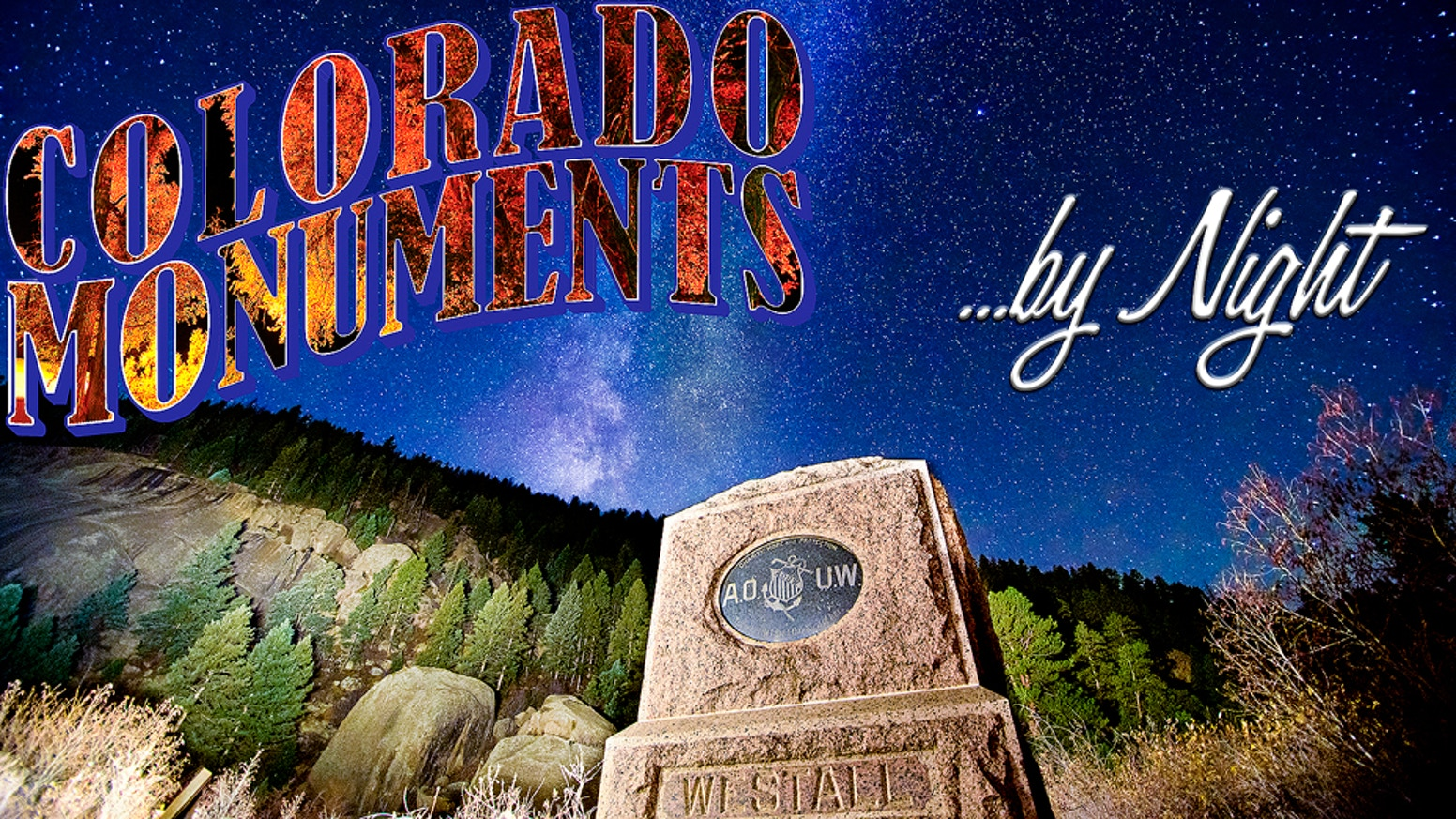 A book detailing a photographic and historical journey through Colorado's monuments, including directions and coordinates.