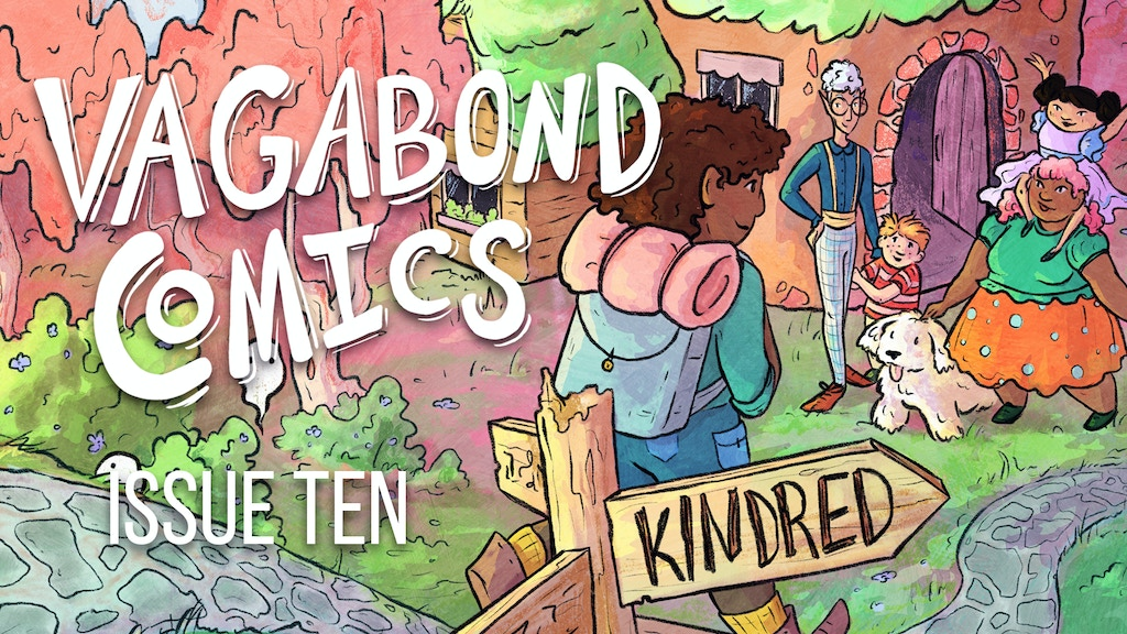 Vagabond Comics Issue 10: Kindred project video thumbnail