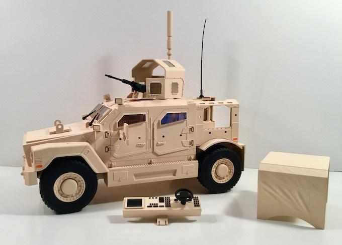 Modular Armored Range Vehicle