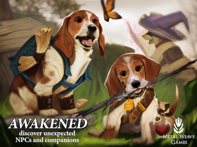 Awakened - NPCs and Companions for 5e by Baby Bestiary — Kickstarter