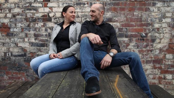 Company Directors, GRIGA Designers: Frances Rice & Greg Bould