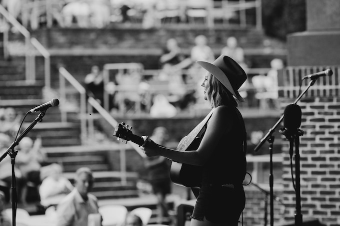 opening for Lee Ann Womack at Southern Ground Amphitheater / photo by Brooke Bennett
