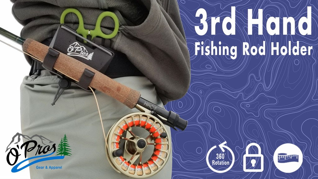 The 3rd Hand Fishing Rod Holder | A fisherman's best friend project video thumbnail