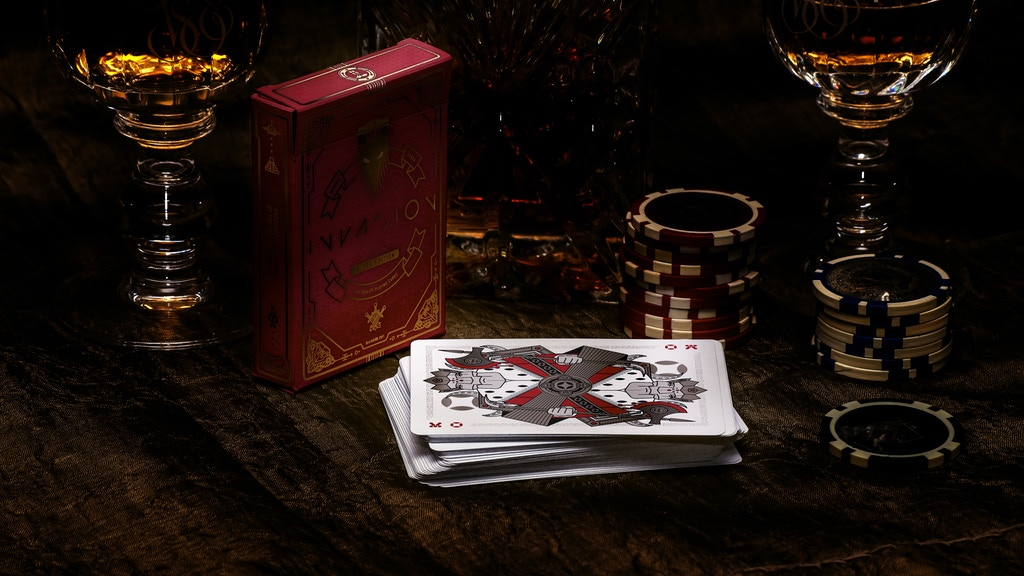 INVASION Playing Cards Blood Edition