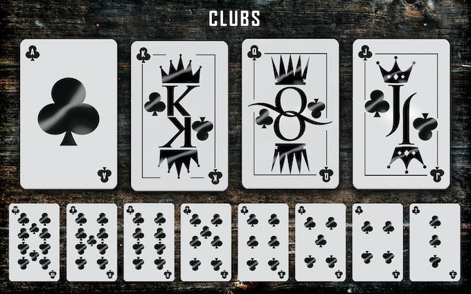 Clubs suit
