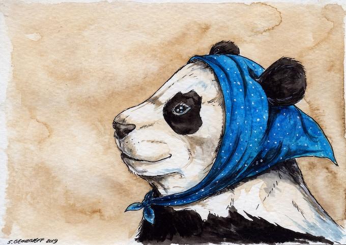 n0 4. An Alluring Giant Panda... Tillie..
