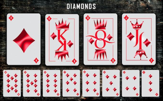 Diamonds suit