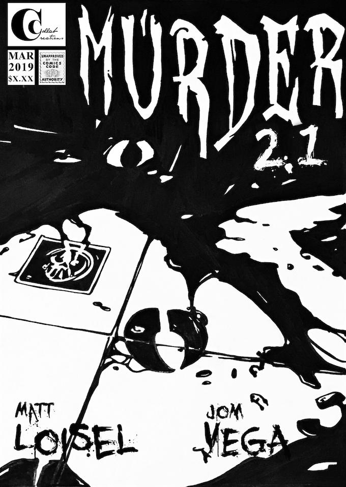Cover art for Murder issue 2.1. Art by Jom Vega