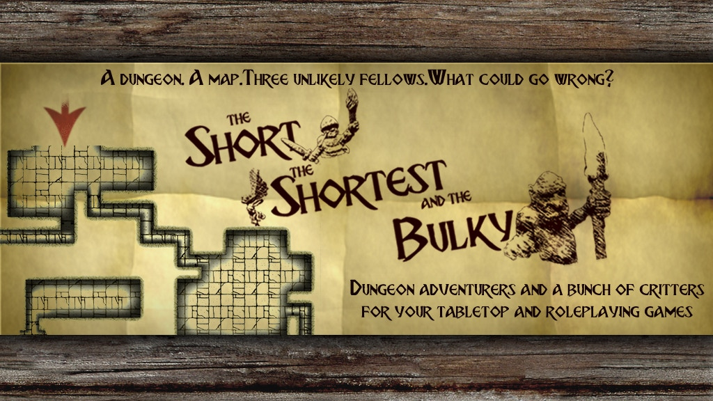 The Short, the Shortest and the Bulky