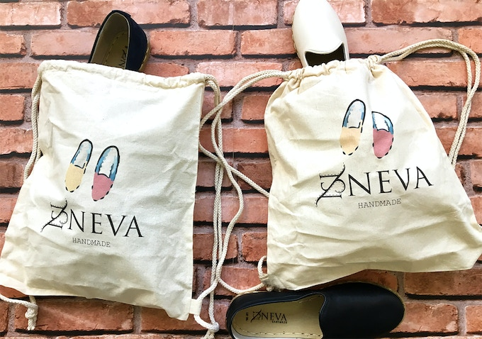 Every Neva Shoe will come with a multifunctional cotton dust bag