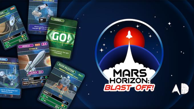 Mars Horizon: Blast Off!