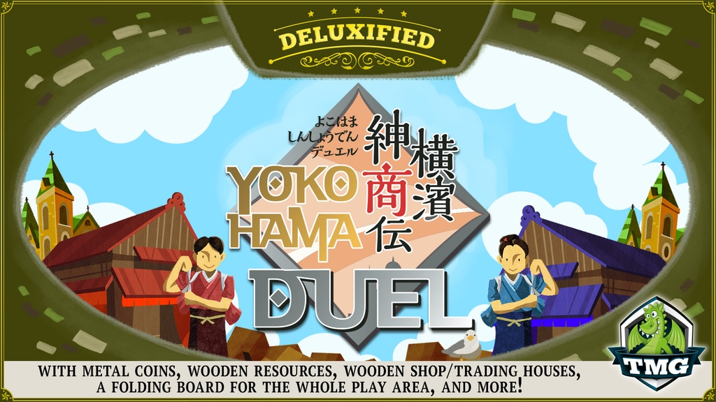 Yokohama Duel - Deluxified™ Edition is the top crowdfunding project launched today. Yokohama Duel - Deluxified™ Edition raised over $92587 from 1167 backers. Other top projects include Little Sophia by Hanson Robotics, The Bobby Pro & Bobby Tech Anti-Theft Backpacks by XD Design, ...