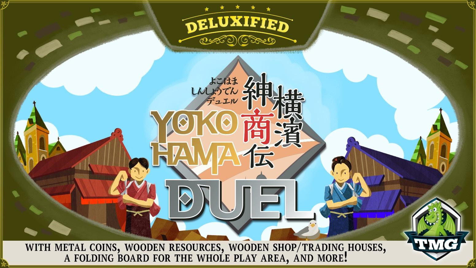 Tasty Minstrel Games presents Hisashi Hayashi's Yokohama Duel - presented in glorious Deluxified™ fashion!