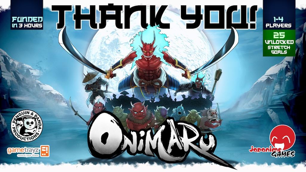 Onimaru project video thumbnail