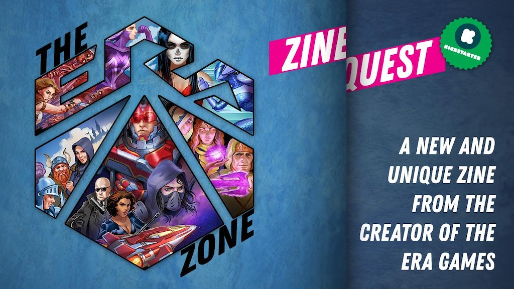 The Era Zone - A zine celebrating 5 years of the Era games! project video thumbnail