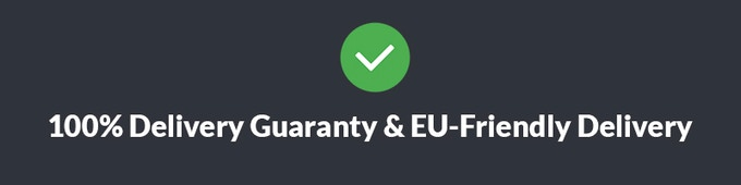 We're providing a 100% delivery guaranty - if the Supercharged isn't produced - we'll return your money. We're shipping all over the globe! For EU fans - we'll be shipping locally from European distribution centers to avoid extra costs to backers.