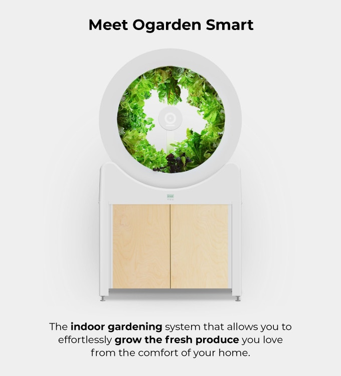 OGarden Smart: Grow An Indoor Garden of 90 Fruits & Veggies