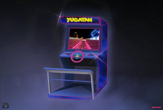 Concept art for the Yucatan cabinet