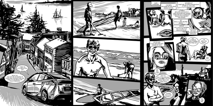 Various pages from Issue #1