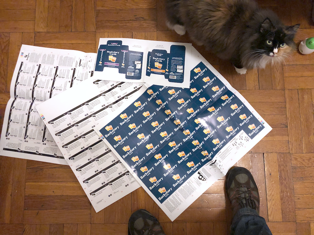 Sheet Proofs, with the assistance of my cat Sigrid.