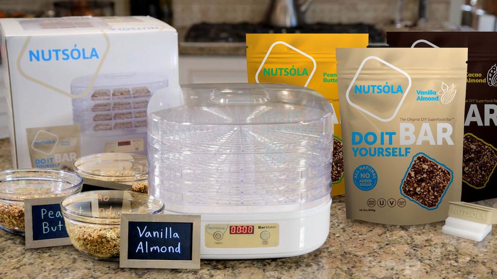 NUTSÓLA: The Original DIY Superfood Bar™ project video thumbnail