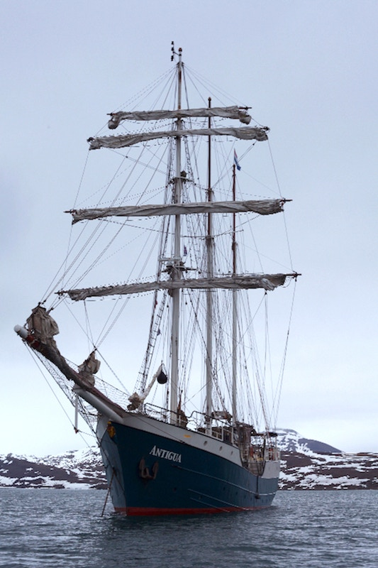 Antigua (Dutch), Tall Ship, 162.5 ft. long, 23.5 ft. wide, 3-masts