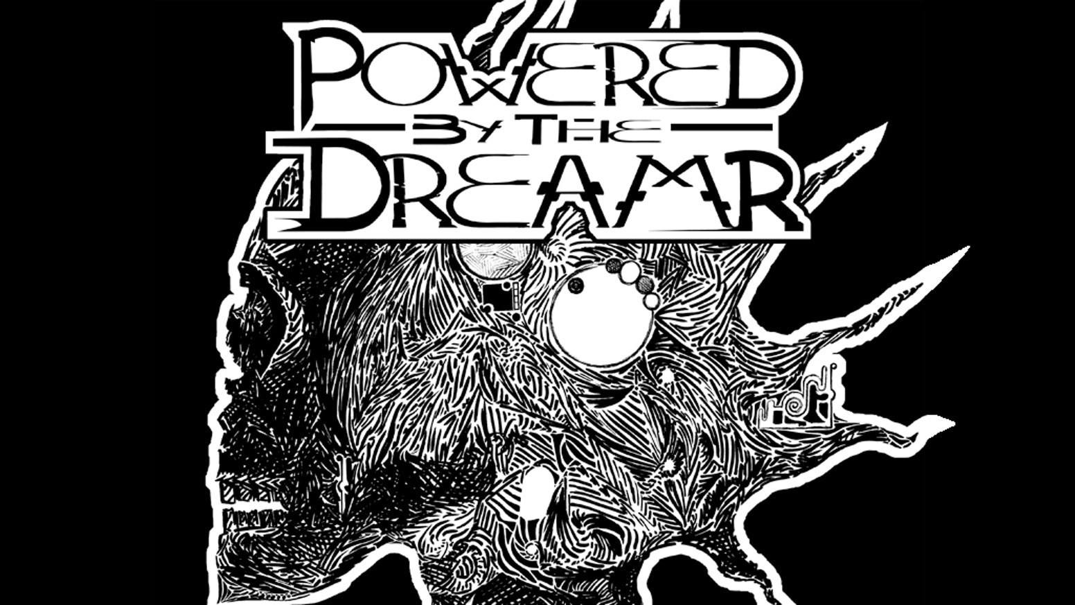 Dreamrs, we are such stuff as dreams are *Powered* on, and our little life is rounded *by the Apocalypse*. Complete PbtA RPG in a zine.