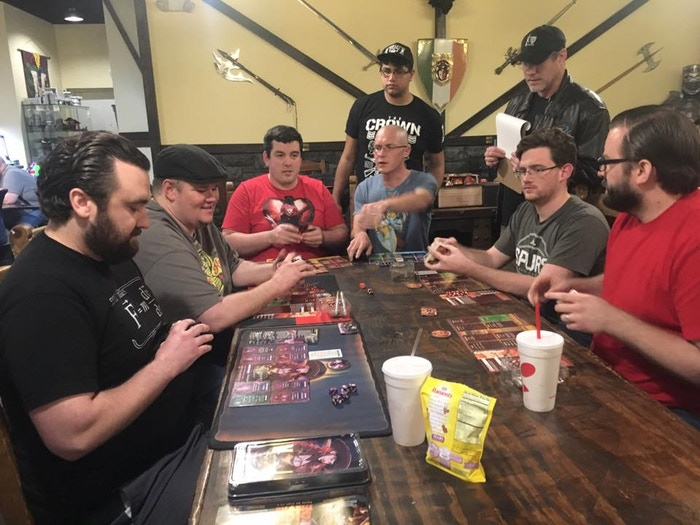 Congratulations to Justin Buckler and John Vallone for taking first place with a Barbarian + Cursed Pirate combo! (other finalists included Aaron Hine, Blake Royall, Brandon Allen, & Kyle Huesing)