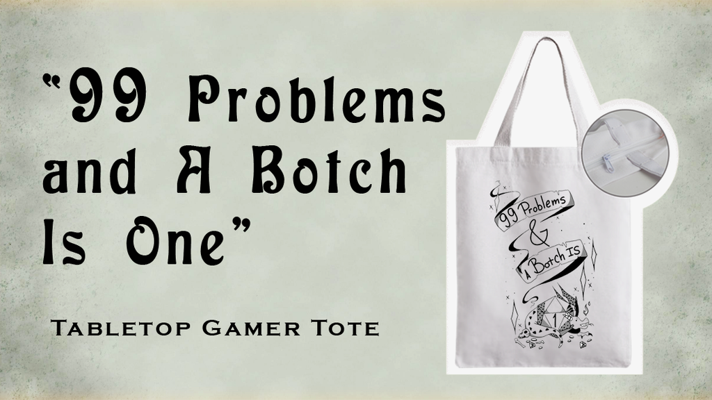 Project image for Make 100: Tabletop Dilemma - Crit Failure Tote