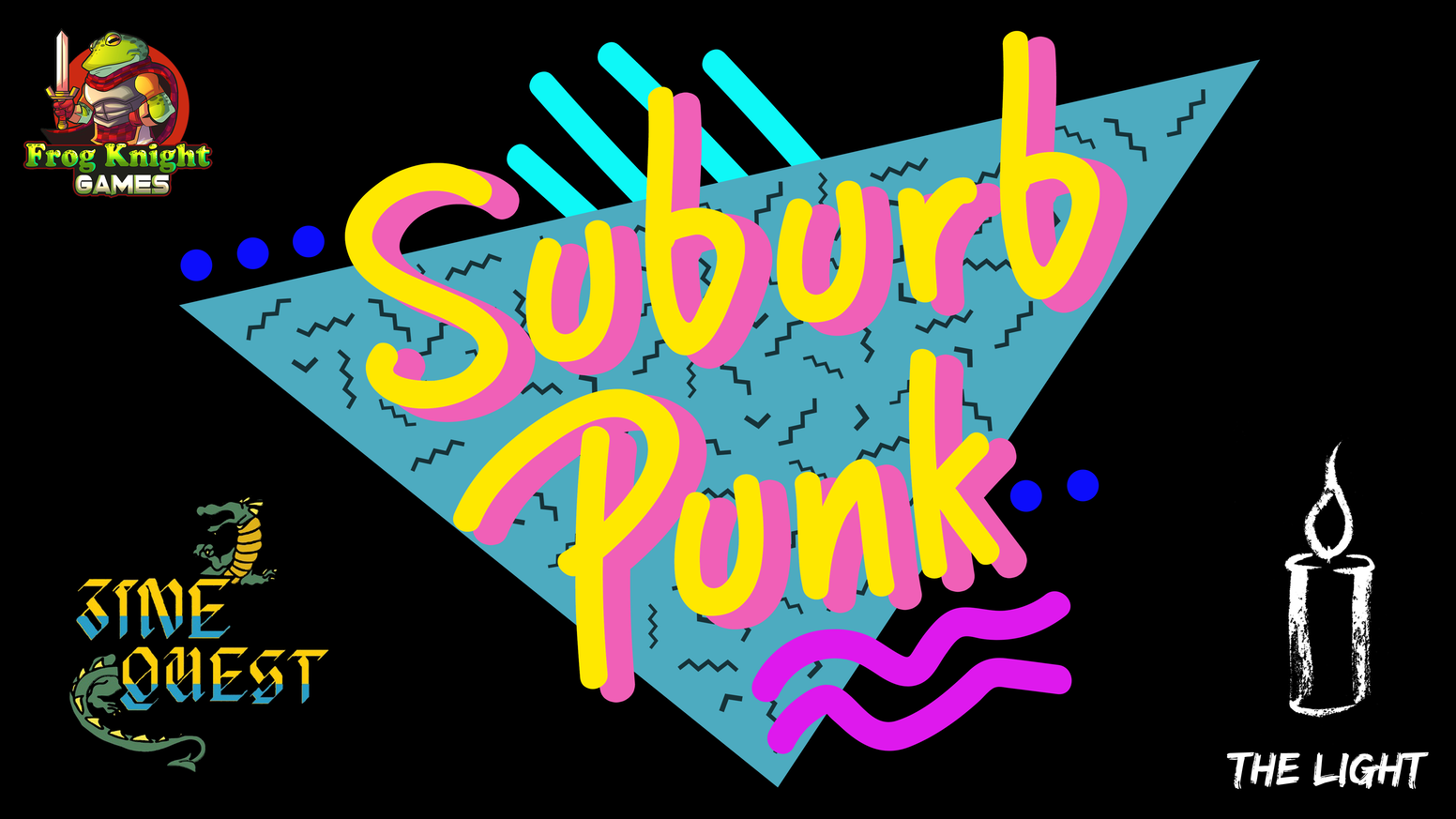SuburbPunk - System Agnostic Role Playing Setting Book by