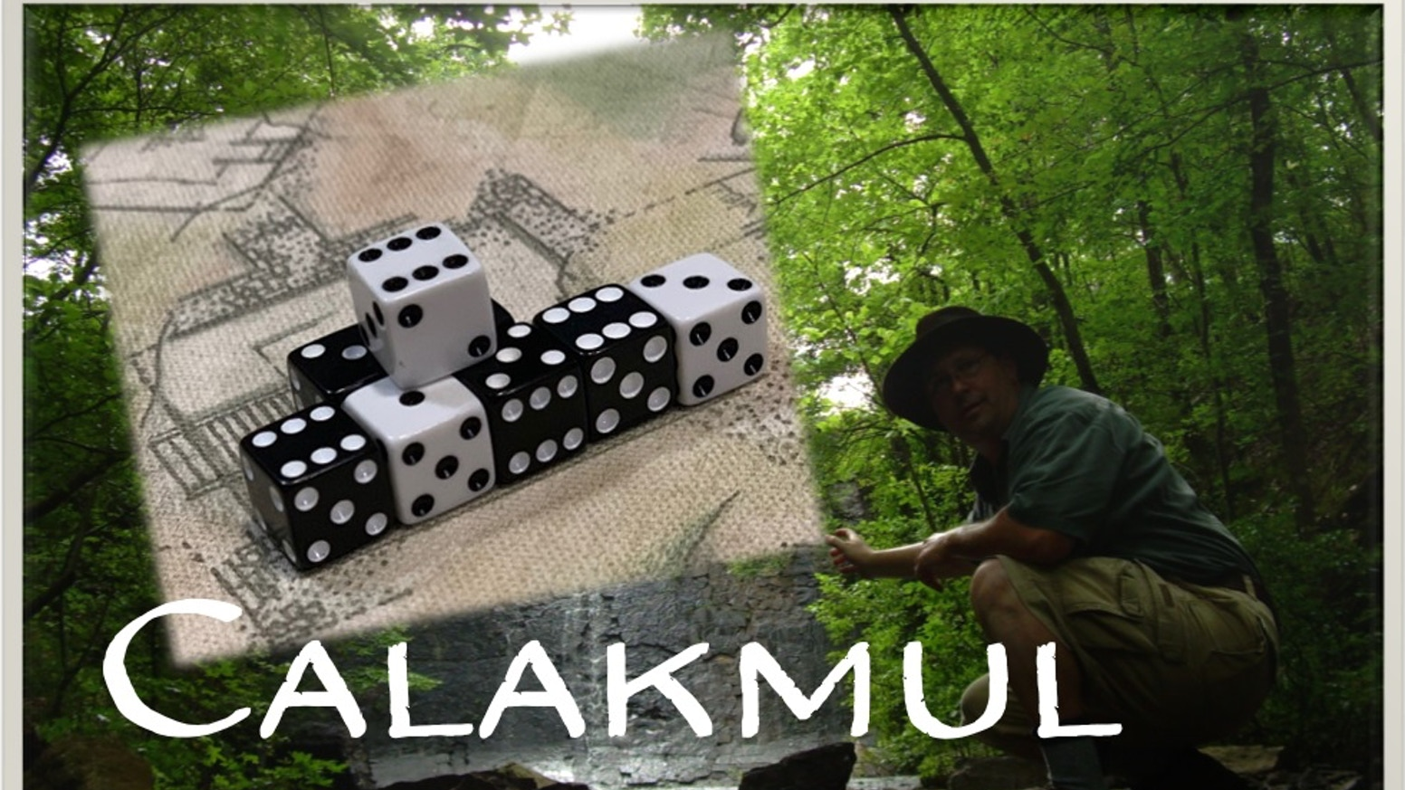 Calakmul  - Will you be the next Maya ruler?  The 2nd Daring Dice Game.  With a special Make 100 pledge level.  Includes Solo play.