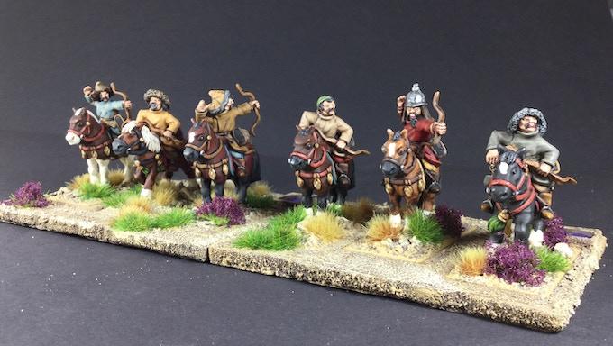 Horse archers set 1