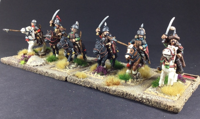 Heavy Cavalry set 4