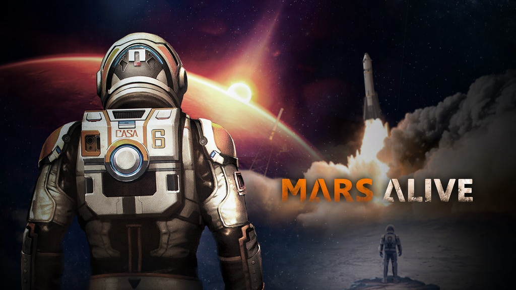 Mars Alive - A survival PSVR game in the open world on Mars. project video thumbnail