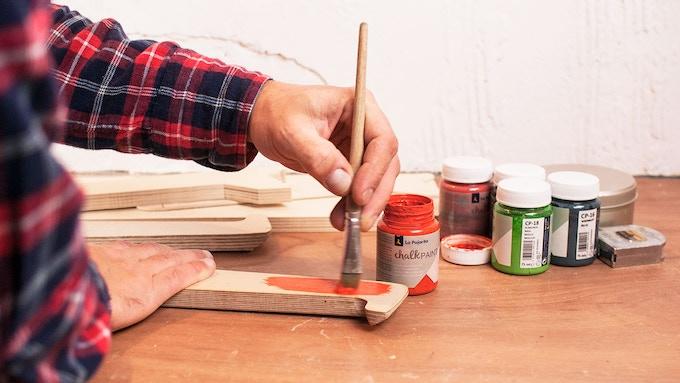 Hand painting customized ISOSCELES