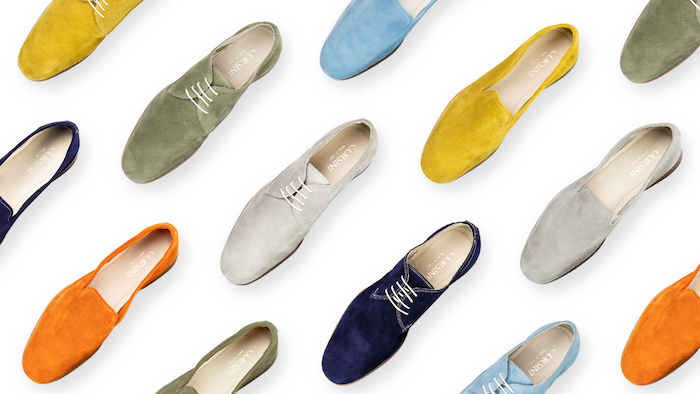 Handcrafted Suede Italian Shoes, World's First Natural Anti-Odor Treatment. Incredibly Packable, Extra Light and Comfortable.