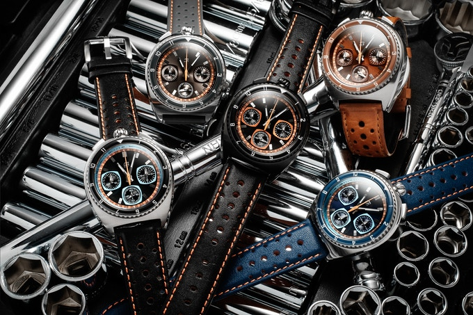 Group shot Legera Bullhead Automatic